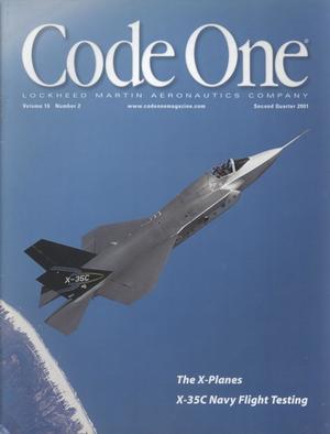 Code One, Volume 16, Number 2, Second Quarter 2001