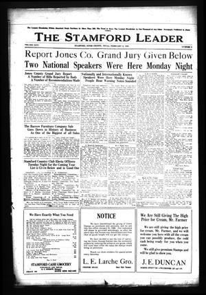 The Stamford Leader (Stamford, Tex.), Vol. 26, No. 2, Ed. 1 Friday, February 3, 1928