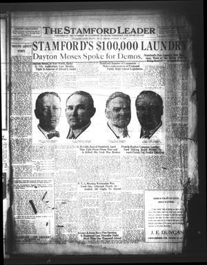 The Stamford Leader (Stamford, Tex.), Vol. 26, No. 39, Ed. 1 Friday, October 19, 1928