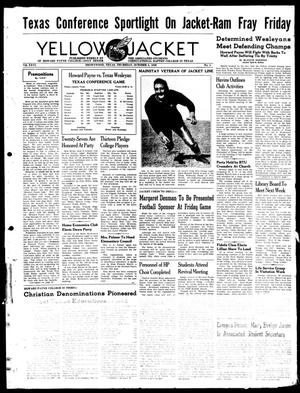 Primary view of object titled 'Yellow Jacket (Brownwood, Tex.), Vol. 26, No. 4, Ed. 1, Thursday, October 5, 1939'.
