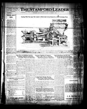 The Stamford Leader (Stamford, Tex.), Vol. 26, No. [35], Ed. 1 Friday, September 21, 1928
