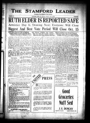 The Stamford Leader (Stamford, Tex.), Vol. 25, No. 88, Ed. 1 Friday, October 14, 1927