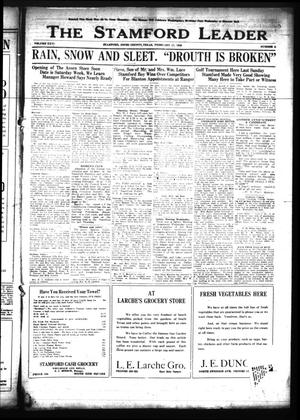 The Stamford Leader (Stamford, Tex.), Vol. 26, No. 4, Ed. 1 Friday, February 17, 1928