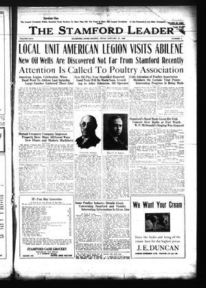 The Stamford Leader (Stamford, Tex.), Vol. 26, No. 1, Ed. 1 Friday, January 27, 1928
