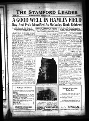 The Stamford Leader (Stamford, Tex.), Vol. 26, No. 7, Ed. 1 Friday, March 9, 1928