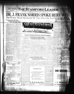 The Stamford Leader (Stamford, Tex.), Vol. 26, No. 38, Ed. 1 Friday, October 12, 1928