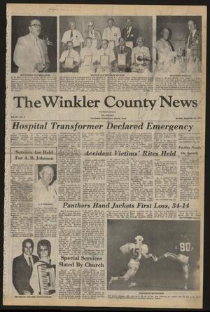 Primary view of object titled 'The Winkler County News (Kermit, Tex.), Vol. 42, No. 4, Ed. 1 Monday, September 26, 1977'.