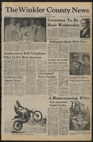 The Winkler County News (Kermit, Tex.), Vol. 42, No. 50, Ed. 1 Monday, March 13, 1978