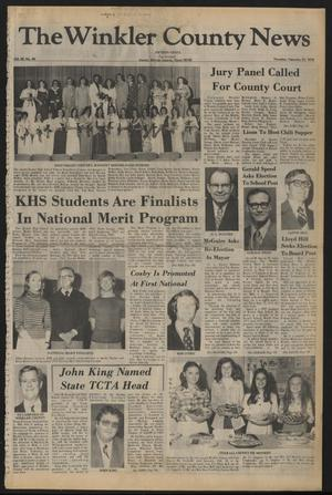 The Winkler County News (Kermit, Tex.), Vol. 42, No. 46, Ed. 1 Thursday, February 23, 1978