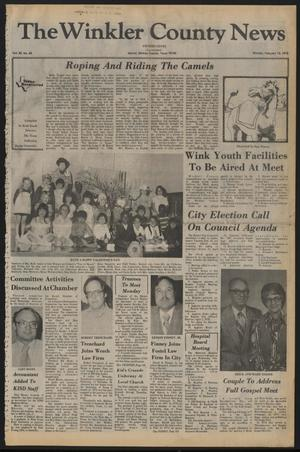 The Winkler County News (Kermit, Tex.), Vol. 42, No. 43, Ed. 1 Monday, February 13, 1978