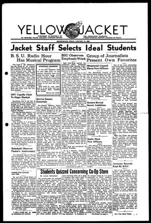 Primary view of object titled 'Yellow Jacket (Brownwood, Tex.), Ed. 1, Monday, January 15, 1945'.