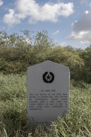 Historical Marker: Last Battle of the Civil War