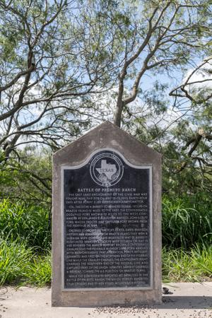 Historical Marker: Battle of Palmito Ranch