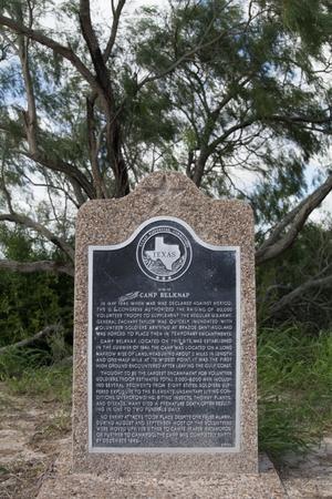 Historical Marker: Site of Camp Belknap