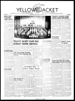 Yellow Jacket (Brownwood, Tex.), Vol. 36, No. 20, Ed. 1, Tuesday, February 21, 1950