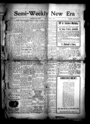 Semi-Weekly New Era (Hallettsville, Tex.), Vol. 29, No. 39, Ed. 1 Tuesday, August 5, 1919