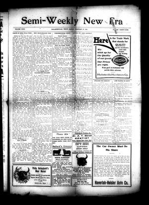 Semi-Weekly New Era (Hallettsville, Tex.), Vol. 31, No. 99, Ed. 1 Friday, February 27, 1920