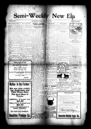 Semi-Weekly New Era (Hallettsville, Tex.), Vol. 32, No. 17, Ed. 1 Friday, May 14, 1920