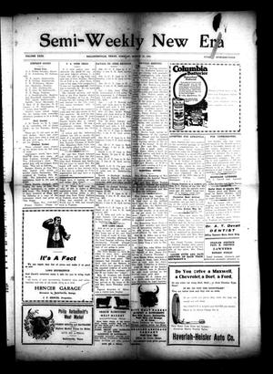 Primary view of object titled 'Semi-Weekly New Era (Hallettsville, Tex.), Vol. 31, No. 104, Ed. 1 Tuesday, March 16, 1920'.