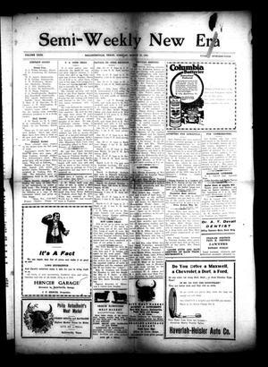 Semi-Weekly New Era (Hallettsville, Tex.), Vol. 31, No. 104, Ed. 1 Tuesday, March 16, 1920