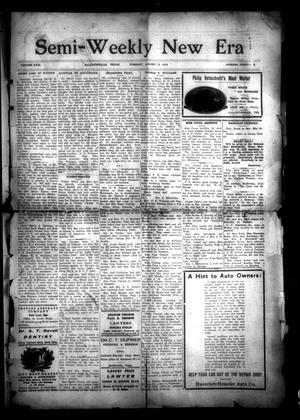 Semi-Weekly New Era (Hallettsville, Tex.), Vol. 29, No. 41, Ed. 1 Tuesday, August 12, 1919