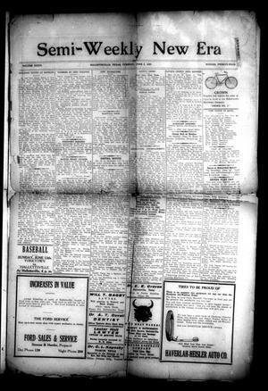 Semi-Weekly New Era (Hallettsville, Tex.), Vol. 32, No. 24, Ed. 1 Tuesday, June 8, 1920