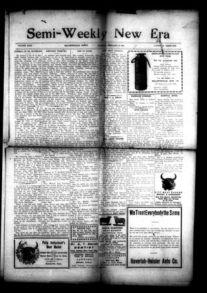 Primary view of object titled 'Semi-Weekly New Era (Hallettsville, Tex.), Vol. 31, No. 96, Ed. 1 Tuesday, February 17, 1920'.