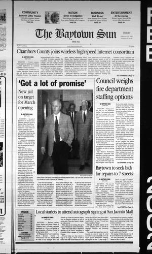 Primary view of object titled 'The Baytown Sun (Baytown, Tex.), Vol. 80, No. 81, Ed. 1 Friday, February 15, 2002'.
