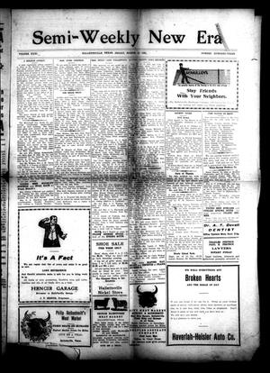 Primary view of object titled 'Semi-Weekly New Era (Hallettsville, Tex.), Vol. 31, No. 103, Ed. 1 Friday, March 12, 1920'.