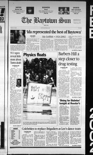Primary view of object titled 'The Baytown Sun (Baytown, Tex.), Vol. 80, No. 93, Ed. 1 Wednesday, February 27, 2002'.