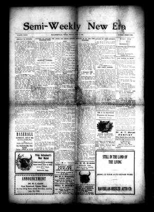 Primary view of object titled 'Semi-Weekly New Era (Hallettsville, Tex.), Vol. 32, No. 31, Ed. 1 Friday, July 2, 1920'.