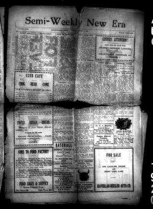 Semi-Weekly New Era (Hallettsville, Tex.), Vol. 32, No. 41, Ed. 1 Friday, August 6, 1920