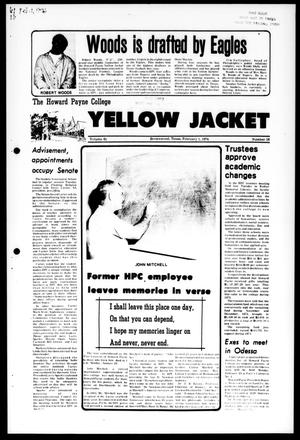 The Howard Payne College Yellow Jacket (Brownwood, Tex.), Vol. 61, No. 16, Ed. 1, Friday, February 1, 1974