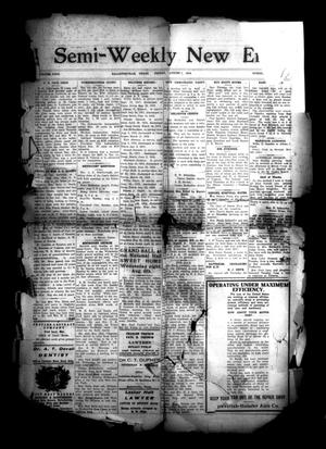 Primary view of object titled 'Semi-Weekly New Era (Hallettsville, Tex.), Vol. 29, No. [38], Ed. 1 Friday, August 1, 1919'.
