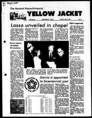 The Howard Payne University Yellow Jacket (Brownwood, Tex.), Vol. 62, No. 27, Ed. 1, Friday, May 9, 1975