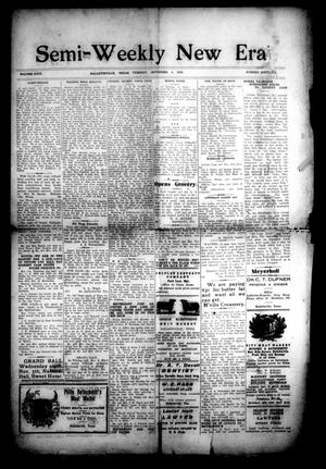 Primary view of object titled 'Semi-Weekly New Era (Hallettsville, Tex.), Vol. 29, No. 66, Ed. 1 Tuesday, November 4, 1919'.