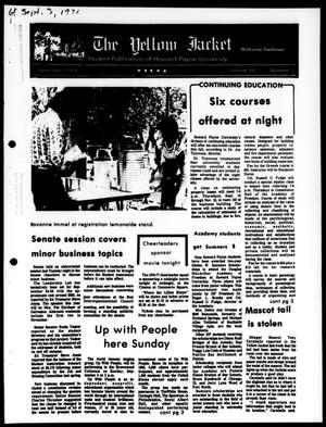 The Yellow Jacket (Brownwood, Tex.), Vol. 64, No. 1, Ed. 1, Friday, September 3, 1976
