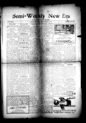 Primary view of object titled 'Semi-Weekly New Era (Hallettsville, Tex.), Vol. 34, No. 79, Ed. 1 Friday, December 14, 1923'.