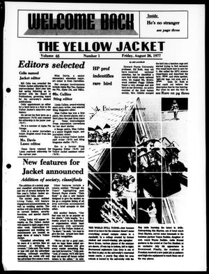 Primary view of object titled 'The Yellow Jacket (Brownwood, Tex.), Vol. 65, No. 1, Ed. 1, Friday, August 26, 1977'.