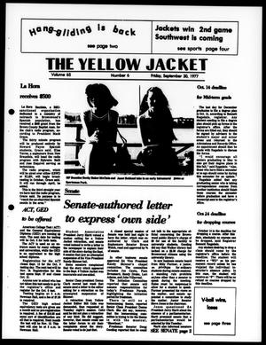 Primary view of object titled 'The Yellow Jacket (Brownwood, Tex.), Vol. 65, No. 6, Ed. 1, Friday, September 30, 1977'.