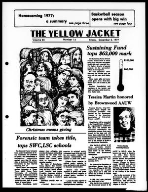 Primary view of object titled 'The Yellow Jacket (Brownwood, Tex.), Vol. 65, No. 14, Ed. 1, Friday, December 2, 1977'.