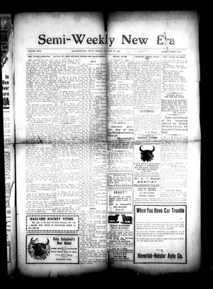 Primary view of object titled 'Semi-Weekly New Era (Hallettsville, Tex.), Vol. 31, No. 91, Ed. 1 Friday, January 30, 1920'.