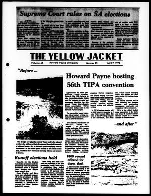 The Yellow Jacket (Brownwood, Tex.), Vol. 65, No. 25, Ed. 1, Friday, April 7, 1978