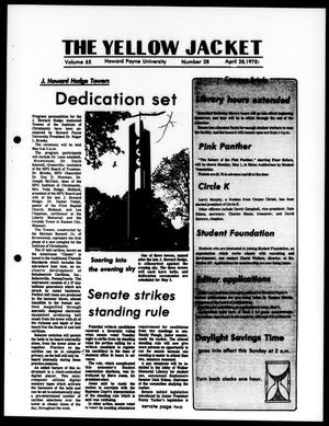 The Yellow Jacket (Brownwood, Tex.), Vol. 65, No. 28, Ed. 1, Friday, April 28, 1978