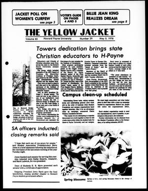 Primary view of object titled 'The Yellow Jacket (Brownwood, Tex.), Vol. 65, No. 29, Ed. 1, Friday, May 5, 1978'.