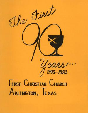 A Short History and Handbook of First Christian Church, Arlington, Texas