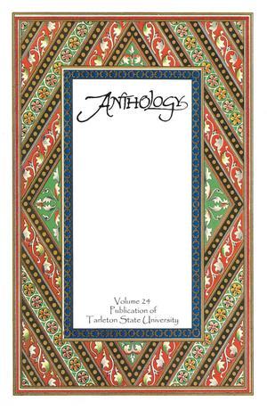 Anthology, Volume 24, Spring 2018