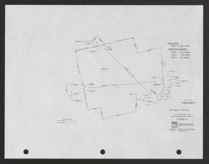 Primary view of object titled '[Survey Map of Sweetwater Municipal Airport #2]'.