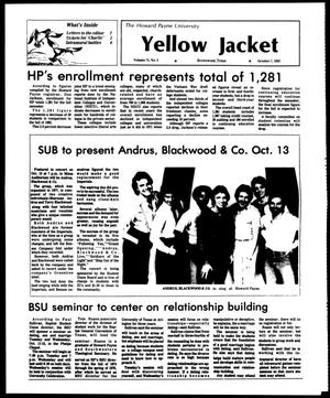 Primary view of object titled 'The Howard Payne University Yellow Jacket (Brownwood, Tex.), Vol. 71, No. 5, Ed. 1, Friday, October 7, 1983'.