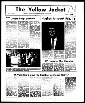 Primary view of object titled 'The Yellow Jacket (Brownwood, Tex.), Vol. 75, No. 15, Ed. 1, Friday, February 12, 1988'.